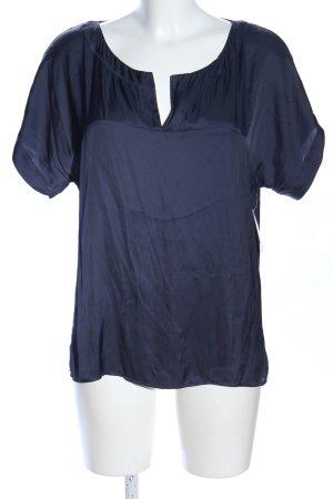 Strenesse Blue Camicetta a maniche corte blu stile casual