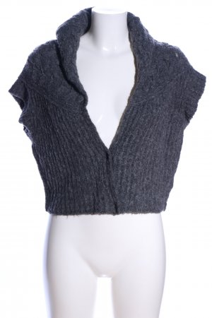 Strenesse Blue Short Sleeve Knitted Jacket light grey casual look