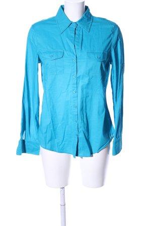 Strenesse Blue Langarmhemd türkis Business-Look