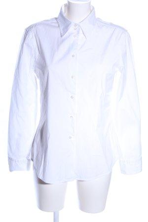 Strenesse Blue Langarmhemd weiß Business-Look