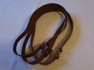 Strenesse Blue Cintura di pelle marrone chiaro