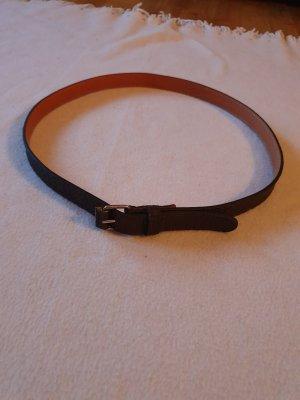 Strenesse Blue Cintura di pelle marrone scuro