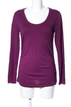 Strenesse Blue Longshirt lila Casual-Look