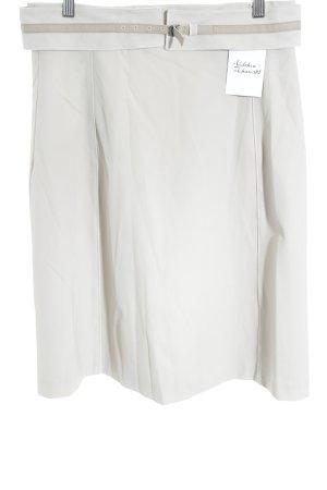 Strenesse Blue Spódnica midi jasnobeżowy W stylu casual