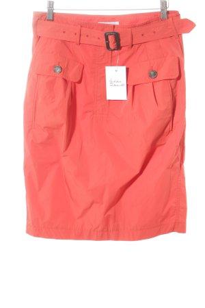 Strenesse Blue Spódnica midi czerwony Poliester