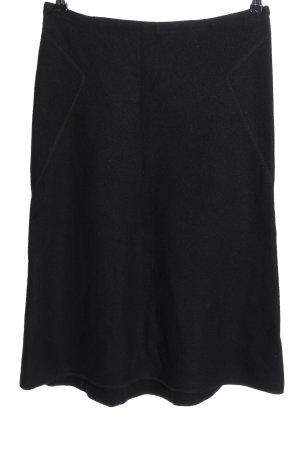 Strenesse Blue Spódnica midi czarny W stylu casual