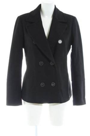 Strenesse Blue Pea Coat black business style
