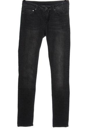 Strenesse Blue Pantalon cigarette noir style décontracté