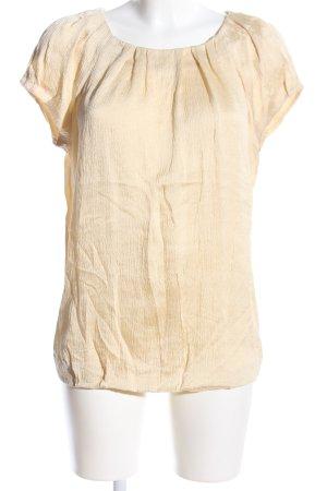 Strenesse Blue Blusa in seta giallo pallido stile casual