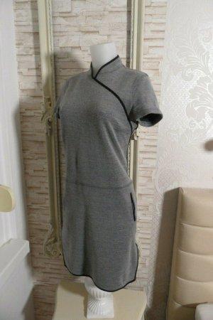 Strenesse Blue Sweat Kleid Gr. 40 Grau / Schwarz