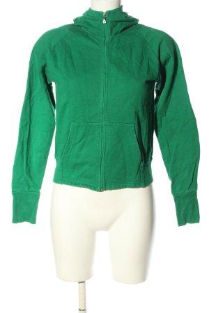 Strenesse Blue Sweatjack groen casual uitstraling