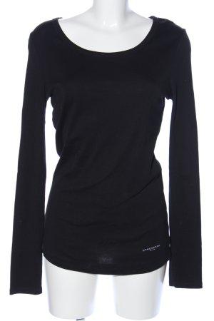 Strenesse Blue Sweatshirt schwarz Casual-Look