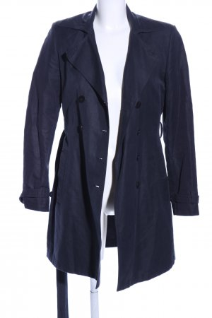 Strenesse Blue Trenchcoat bleu style d'affaires