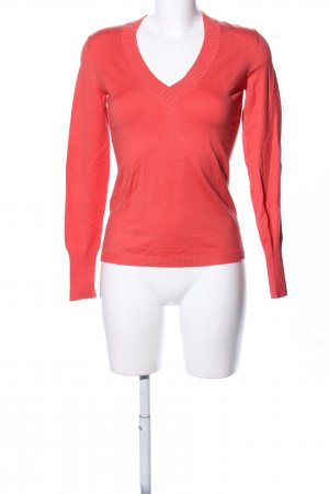 Strenesse Blue V-Ausschnitt-Pullover rot Casual-Look
