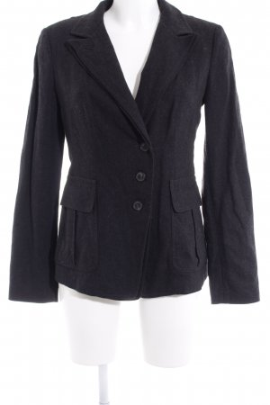 Strenesse Blue Woll-Blazer dunkelgrau Business-Look