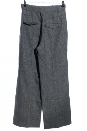 Strenesse Blue Wollhose hellgrau Webmuster Business-Look
