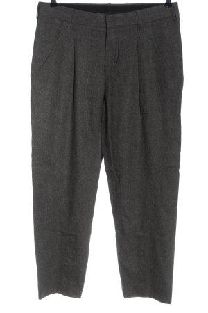 Strenesse Blue Pantalón de lana gris claro look casual