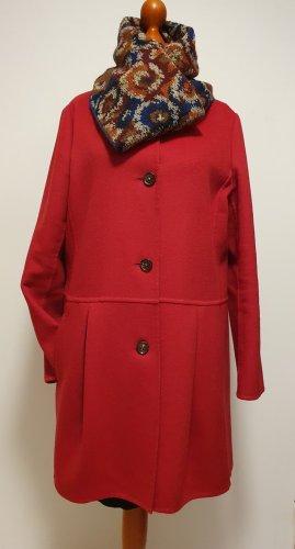 Strenesse Blue Wool Coat red-dark red