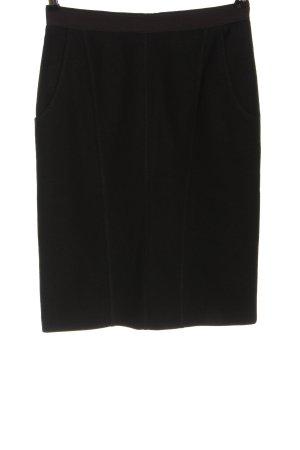 Strenesse Blue Wool Skirt black casual look