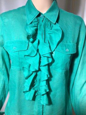 Blue Strenesse Blouse met lange mouwen groen