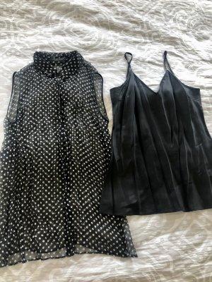 Strenesse Bluse schwarz weiß
