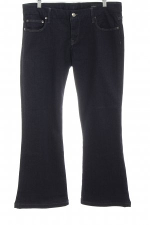 Strenesse Boot Cut Jeans dunkelblau Casual-Look