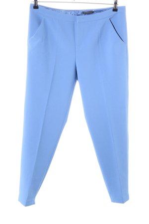 Strenesse Pantalón de pinza azul estilo «business»