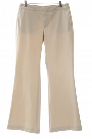 Strenesse Bundfaltenhose creme Business-Look