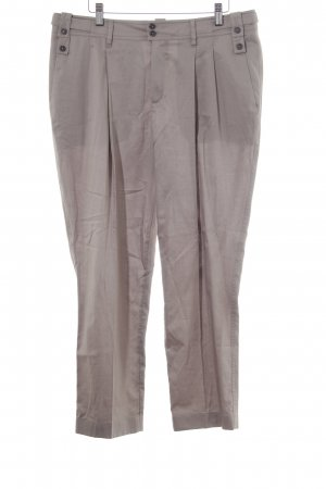 Strenesse Pleated Trousers green grey-beige business style