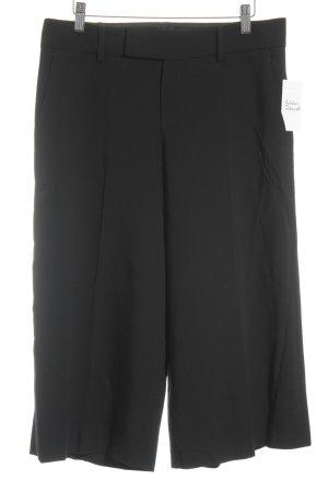 Strenesse Bundfaltenhose schwarz Elegant