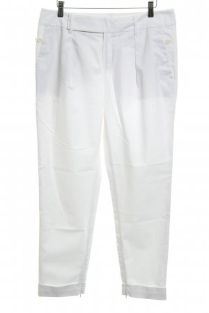 Strenesse Pleated Trousers white classic style