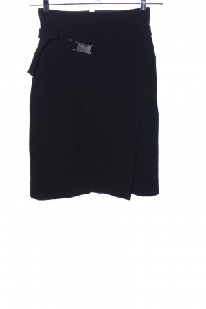 Strenesse Falda estilo cargo negro look casual