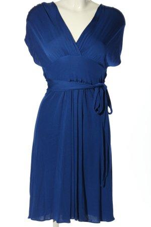 Strenesse Cut-Out-Kleid blau Business-Look