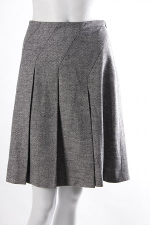 Strenesse Faltenrock grau weiß