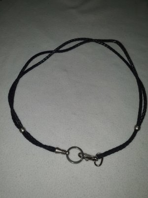 Strenesse Cinturón trenzado negro-gris claro