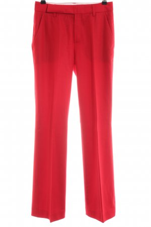 Strenesse Gabriele Strehle Pantalón de vestir rojo estilo «business»