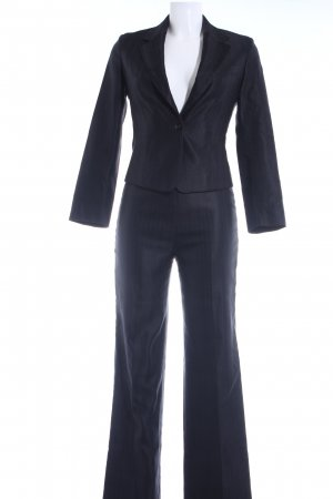 Strenesse Gabriele Strehle Anzughose schwarz Streifenmuster Business-Look