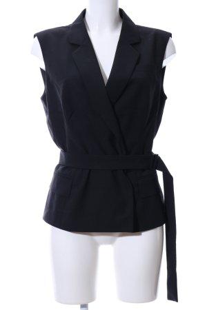 Strenesse Gabriele Strehle Gilet de costume noir style d'affaires