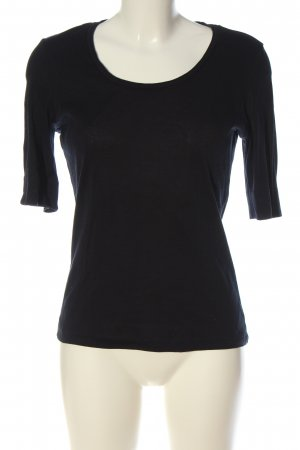 Strenesse Gabriele Strehle Basic Shirt black casual look