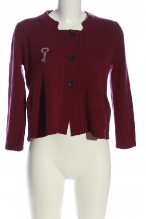 Strenesse Gabriele Strehle Cardigan rot Casual-Look