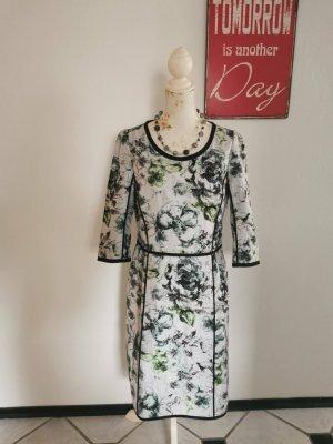 Strenesse Gabriele Strehle Designer Seidenkleid Etuikleid Dress wie NEU Größe 42