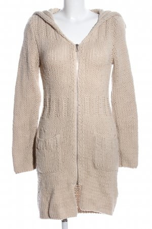 Strenesse Gabriele Strehle Coarse Knitted Jacket cream casual look