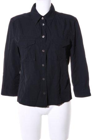 Strenesse Gabriele Strehle Hemd-Bluse schwarz klassischer Stil