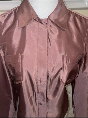Strenesse Gabriele Strehle Twin set in jersey rosa antico-grigio-lilla