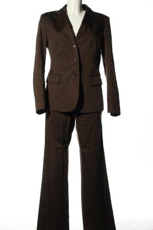 Strenesse Gabriele Strehle Tailleur-pantalon brun style d'affaires