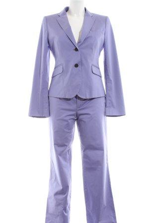 Strenesse Gabriele Strehle Tailleur-pantalon violet style d'affaires