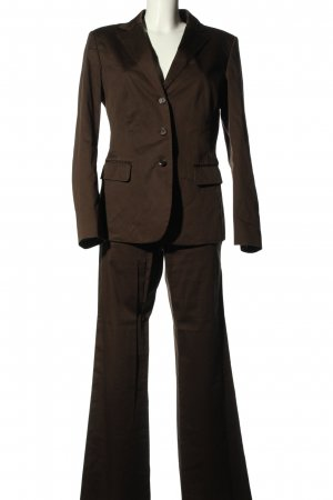 Strenesse Gabriele Strehle Trouser Suit brown business style
