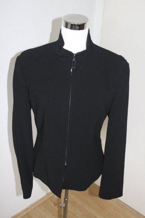 STRENESSE GABRIELE STREHLE Jacket Jacke festlich Blazer SCHWARZ Virgin Wolle Gr 40 42