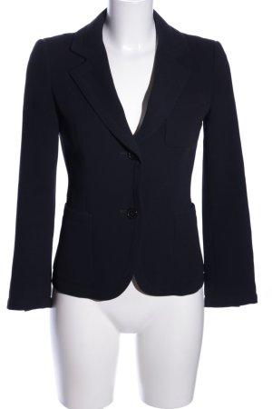Strenesse Gabriele Strehle Jersey Blazer blue mixture fibre