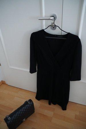 Strenesse Gabriele Strehle Kleid Kleines Schwarzes 40 Luxus Businesskleid 3/4 Arm NP 399€